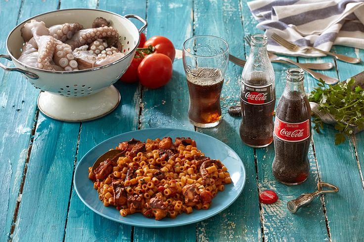 Χταπόδι με κοφτό μακαρονάκι από την Αργυρώ Μπαρμπαρίγου | Κλασικό αγαπημένο ελληνικό πιάτο που μυρίζει θάλασσα