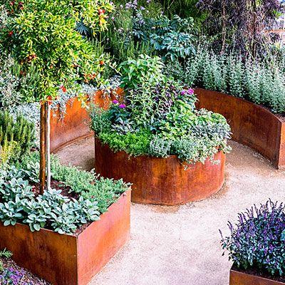 1000+ Bilder zu Gardening auf Pinterest Gärten, Sukkulentenwand - cortenstahl innenbereich ideen