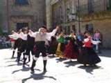 Tradicional folk Galician costume