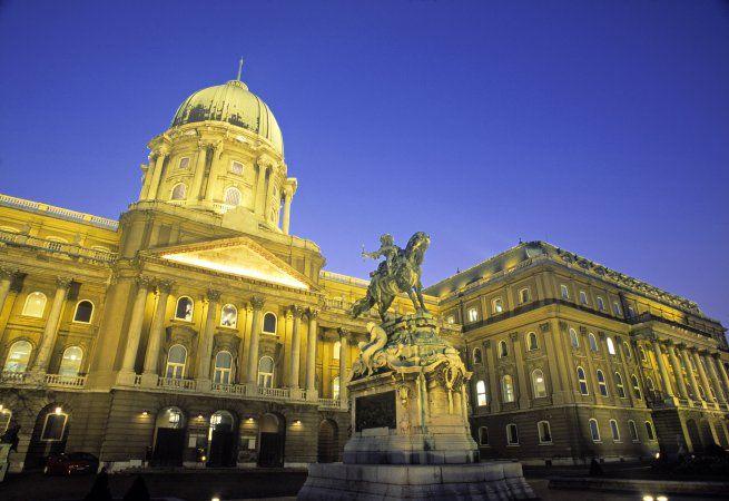 Royal Palace in Budapest, Budapest, Hungary