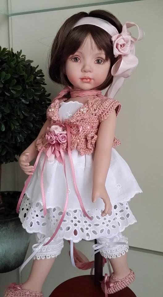 LCD dolls - Laura Corti Dadatti Porcelain doll- mold by Dianna Effner