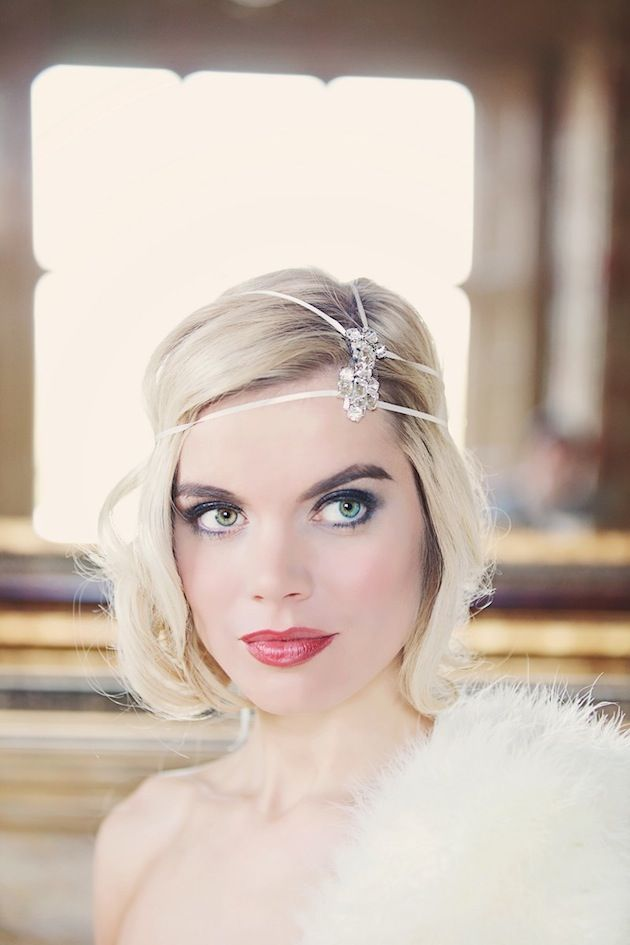 Art Deco & Old Hollywood Glamour Bridal Accessories by Gibson Bespoke -@Dana Moe this stuff is beautiful!