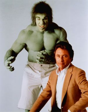 Culture. The Incredible Hulk was one of the favorite TV icons. Played by Lou Farigno. He was a part of the Avengers TV show as well.