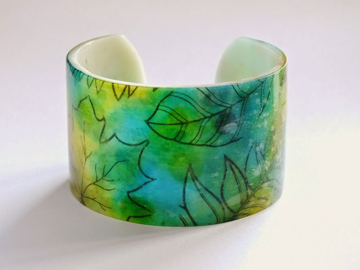 craft liners: A bracelet for the fall.