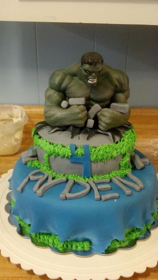 1000+ images about hulk/avengers cakes on Pinterest Hulk ...