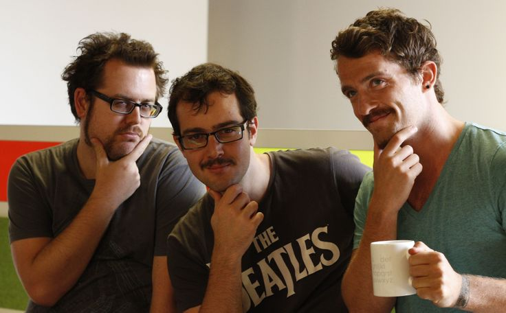 Movember 2013. BCMers Aaron, Dane and Rob ditched their razors to support the cause.