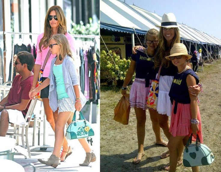 KELLY BENSIMMON FROM THE REAL HOUSEWIVES OF N.Y. & FORMER SUPER MODEL, SPOTTED WEARING A WAYUU MOCHILA