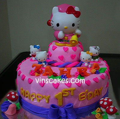 Hello Kitty Cake Goldilocks