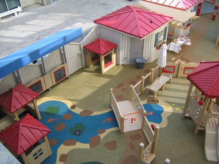 25 best ideas about parc de jeux enfant on pinterest for Revetement cour exterieur