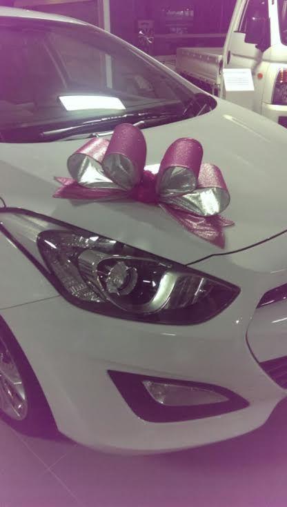 Bridal Car bow