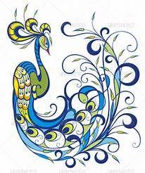 Swirl Peacock Feather Tattoo » Chreagle.com