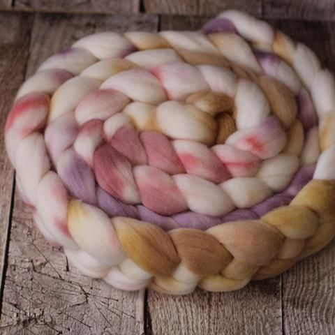 White Gum Wool Sliver - Casper