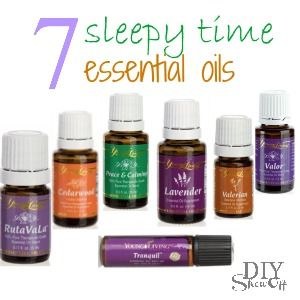 7 Essential Oils for Sleep-- need this! #youngliving