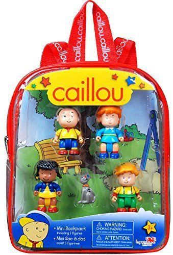 Caillou Mini Backpack with Figures (styles may vary). #Caillou #Mini #Backpack #with #Figures #(styles #vary)