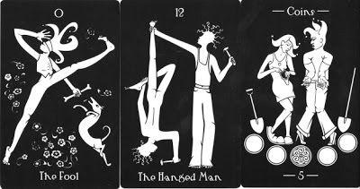 "The Tarot of the Absurd - Jessica Rose Shanahan da IL RAMO D'ORO ""Tarocchi: Musei Storia Arte Fantasia - Tarot: Museums History Art Fancy"" https://ilramodoro-katyasanna.blogspot.it/2013/06/tarocchi-musei-storia-arte-tarot.html"