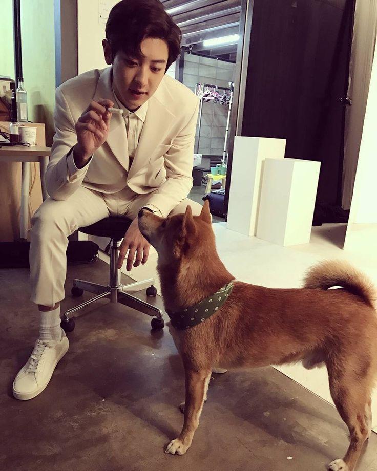 170419 @lucky_seven_shiba IG update #Chanyeol