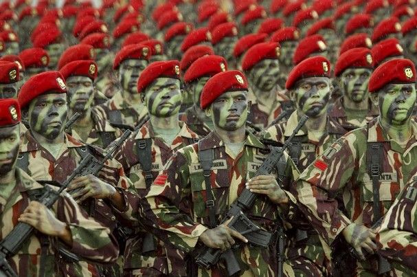 indonesian military | the past indonesia changed indonesia has a very strong army