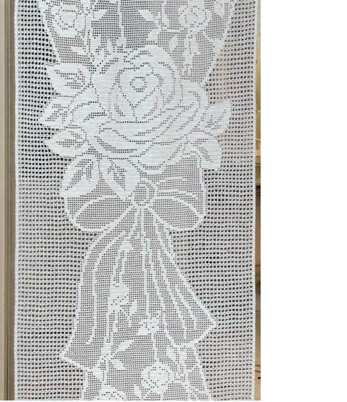 199 Best Cortinas De Crochet Images On Pinterest Cortinas Crochet