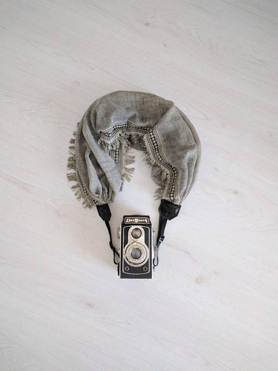 Camera strap Luxury camera strap Moonlight camera strap Scarf
