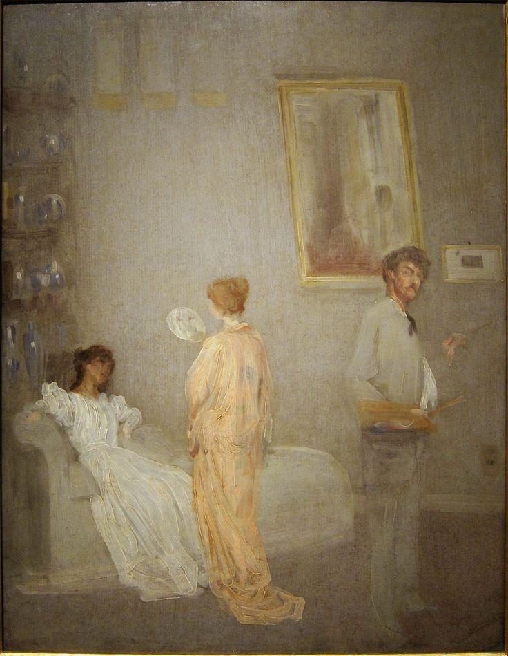Художник в мастерской, 1865/66, Джеймс Эббот Макнейл Уистлер