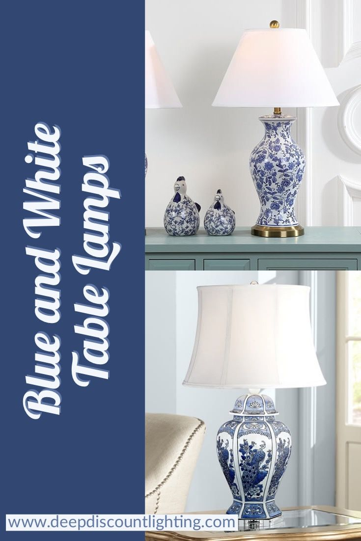 Blue And White Willow Table Lamps Pinterest Lamp Tea Caddy Chinoiserie