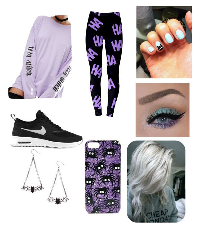 """""""Halloween outfit"""" by jaraujo3 on Polyvore featuring Adolescent Clothing, NIKE and ASOS"""