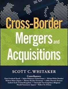 Cross-border mergers and acquisitions free download by Scott C. Whitaker ISBN: 9781119042235 with BooksBob. Fast and free eBooks download.  The post Cross-border mergers and acquisitions Free Download appeared first on Booksbob.com.