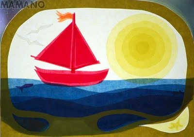 MaMaNo's world and the Hummel children: Driving my little boat