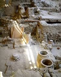 Image result for akrotiri museum santorini
