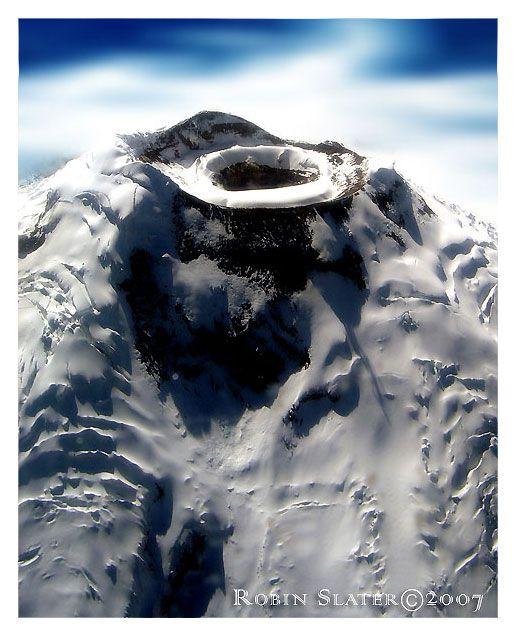 Cotopaxi Summit, the world's highest active volcano, at Cotopaxi National Park, Ecuador