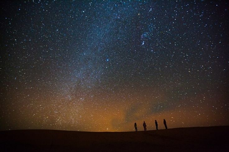 Image result for Starry night in the desert