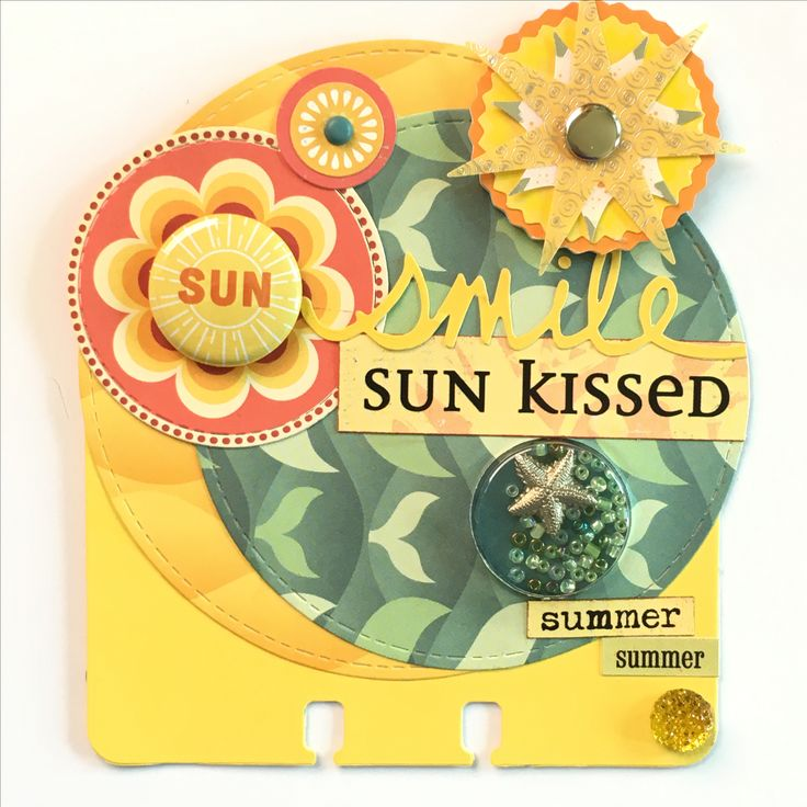 Sunshine Rolodex Memorydex Card by Jackie Benedict