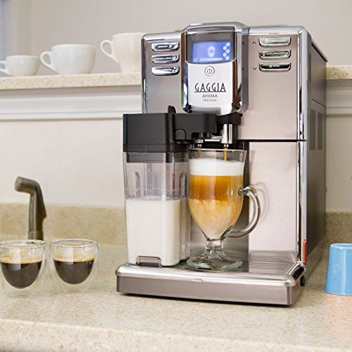 Gaggia Anima Prestige Automatic Coffee Machine, Super Automatic Frothing for Latte, Macchiato, Cappuccino and Espresso Drinks with Programmable Options 1