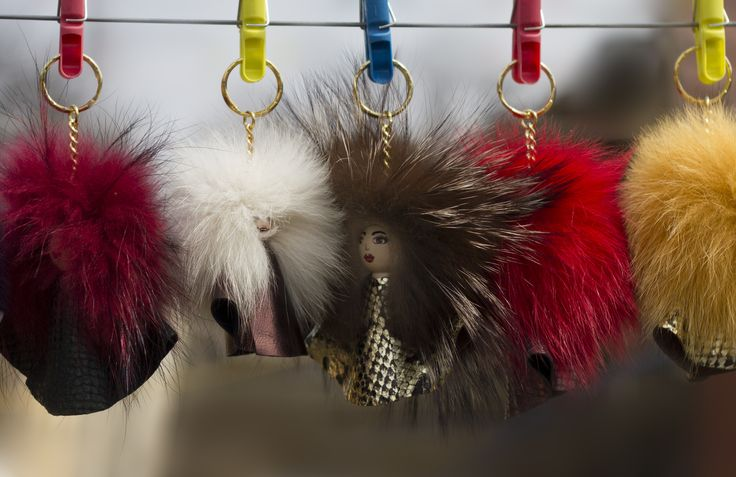 flufyyy bag charms #everbrildolls
