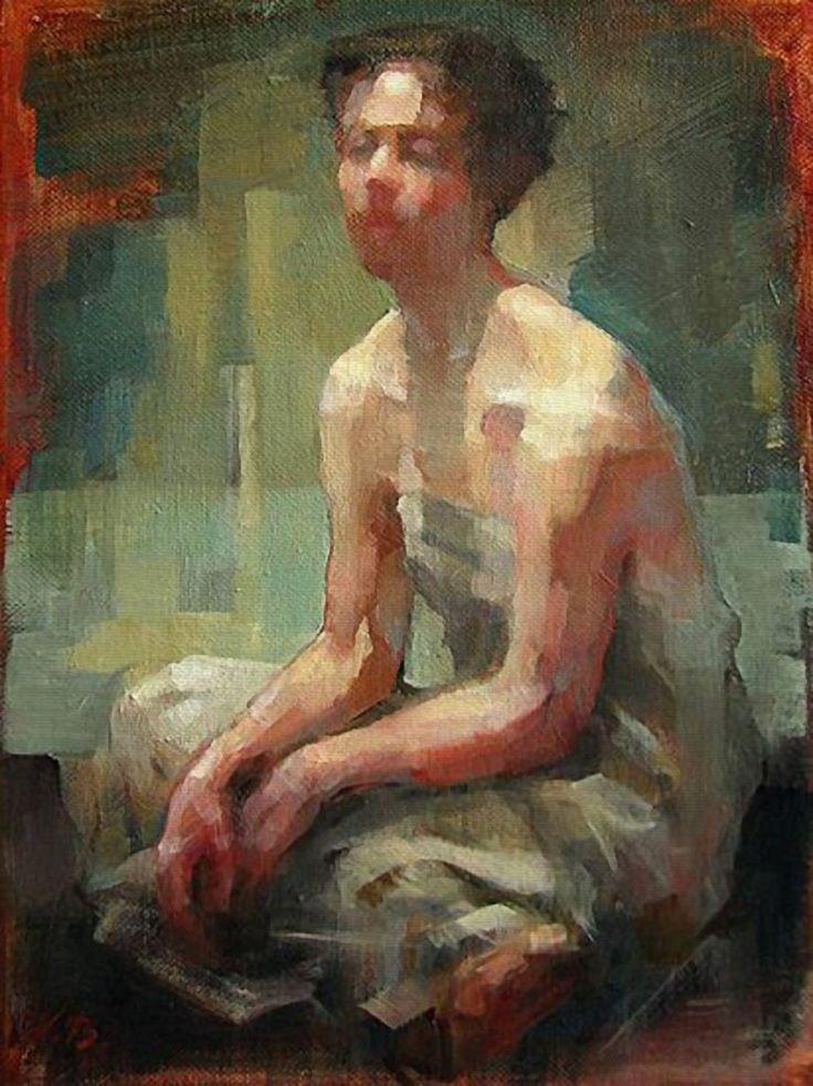 Figure Study Paintings | Fine Art America