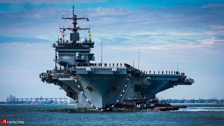 USS Enterprise CVN-65 -5 by DM Brown, via 500px