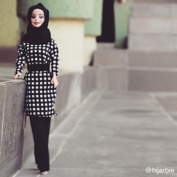 Adam says, �Hijab means modesty to me and it�s my unique identity. It�s my crown and it represents my own personal control over the way I want to be seen. Not leaving out the fact that it�s a religious induction.� | This Hijab Barbie Instagram Account Is Changing The Face Of Barbie, Again