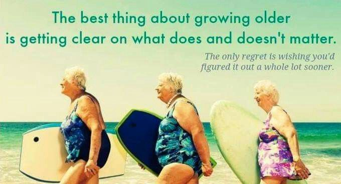 Getting Old Together Quotes: The Best Thing About Growing Old