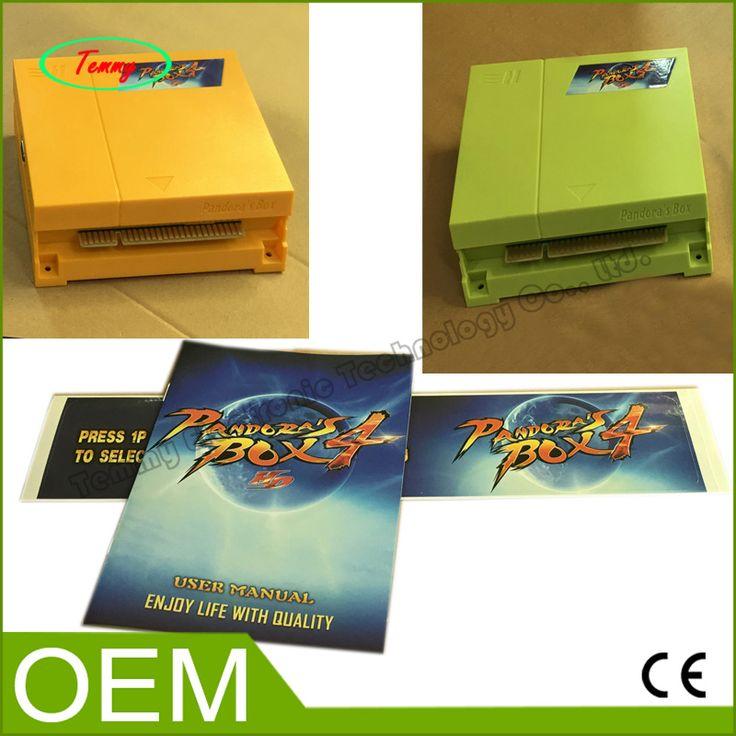 Classic Multi Game Board Pandora's Box 4 645 in 1 Game Box  VGA and CGA output for arcade game machine