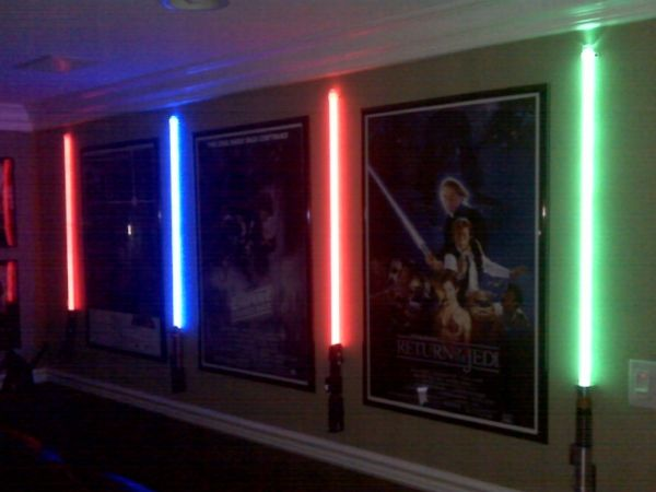 Star Wars Room Painting Ideas | Cool room. Here's what I did in my Star Wars/movie themed theater room ...