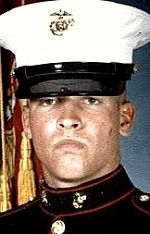 Marine LCpl. Richard P. Slocum, 19, of Saugus, California. Died October 24, 2004, serving during Operation Iraqi Freedom. Assigned to 1st Battalion, 3rd Marine Regiment, 3rd Marine Division, III Marine Expeditionary Force, Marine Corps Base, Hawaii. Died of injuries sustained in a non-combat-related vehicle accident near Abu Ghraib, Baghdad Province, Iraq.