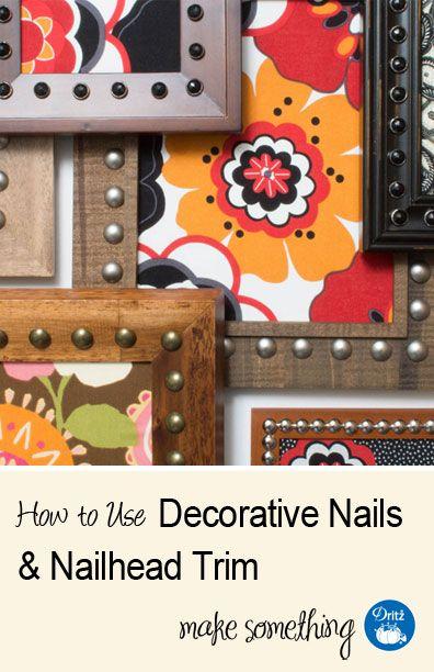 1000+ Images About DIY Decorative Nails & Trim On