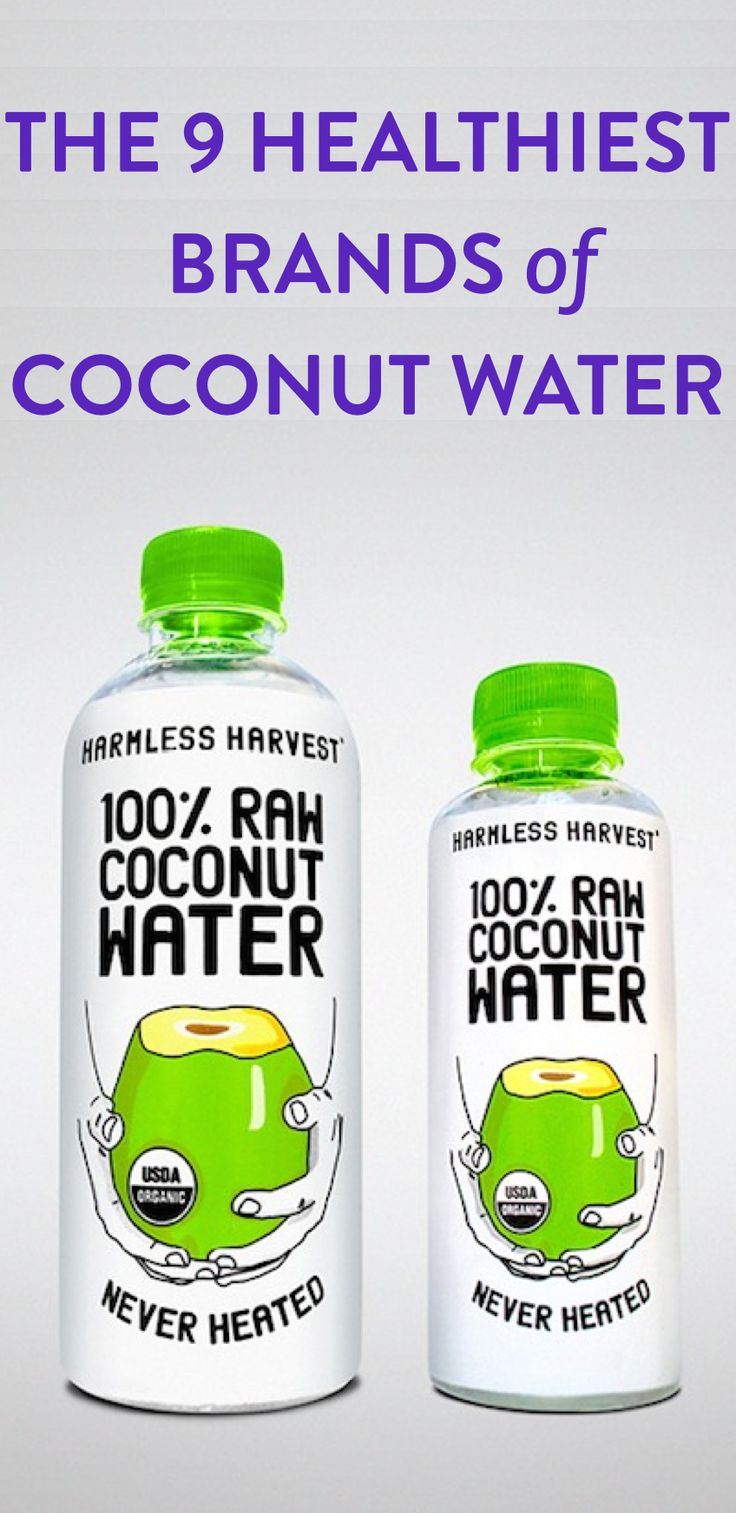 The 9 best brands of coconut water according to experts