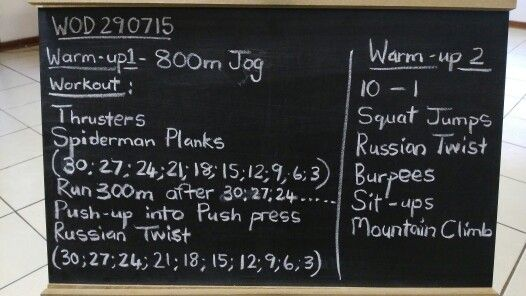 This workout should leave you breathless.