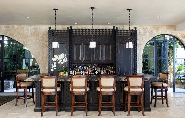 217 best les salons images on pinterest lounges salons - Ranch americain modernise contemporain rachel horn ...