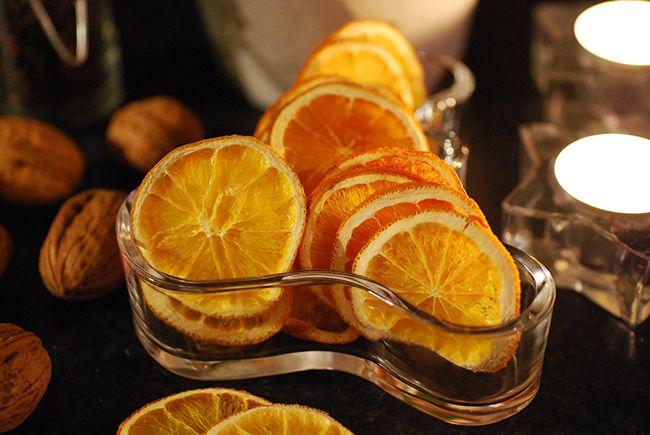 torkade apelsinskivor-fin juldekoration