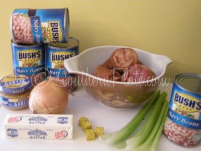 Shortcut Senate Bean Soup and Mary Poppins Visits Bountiful ~ http://www.southernplate.com
