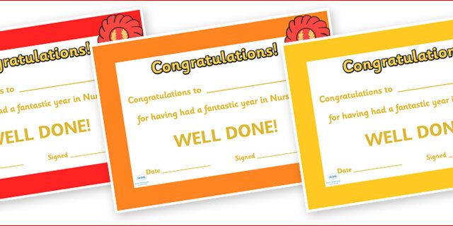Editable End of Year Award Certificates - End of term, award, scroll, reward, award, certificate, medal, rewards, school reward