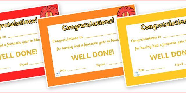 Editable End of Year Award Certificates - End of term, award, scroll, reward, award, certificate, medal, rewards, school reward