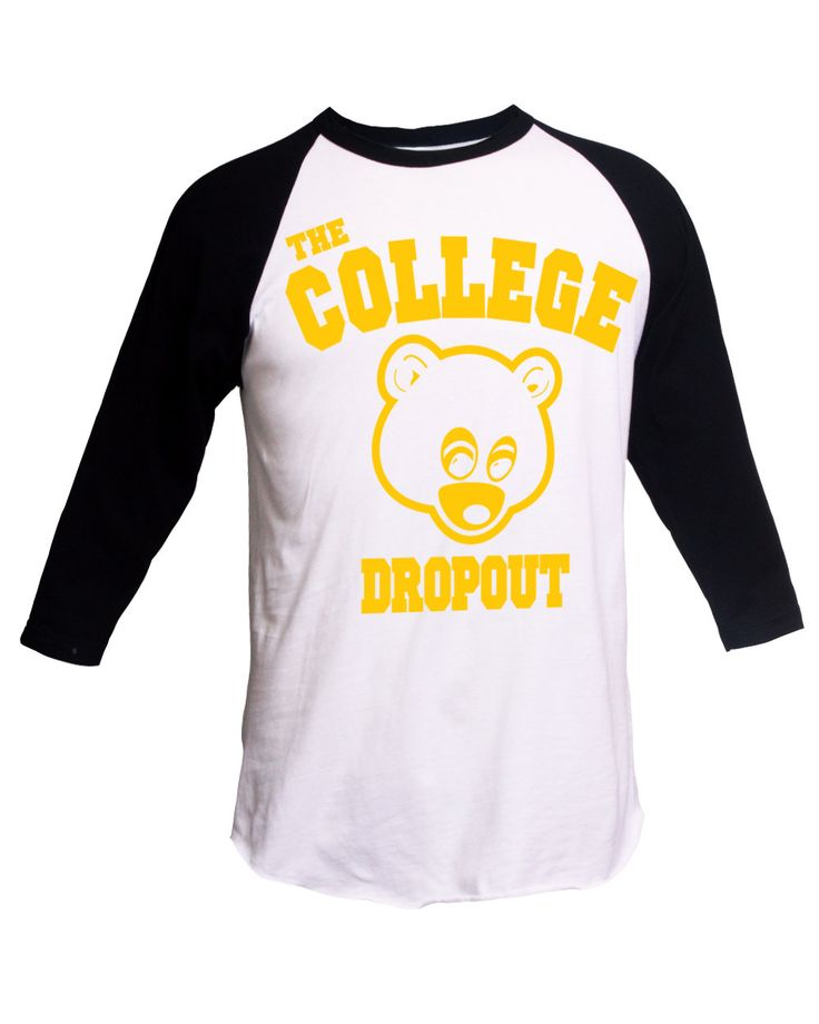 The College Dropout Shirt Kanye West T-Shirt Yeezus Tee IFLP I Feel Like Pablo Kanye West Merch College Dropout Hip Hop Shirt Music Shirt by SterlingPrintShop on Etsy